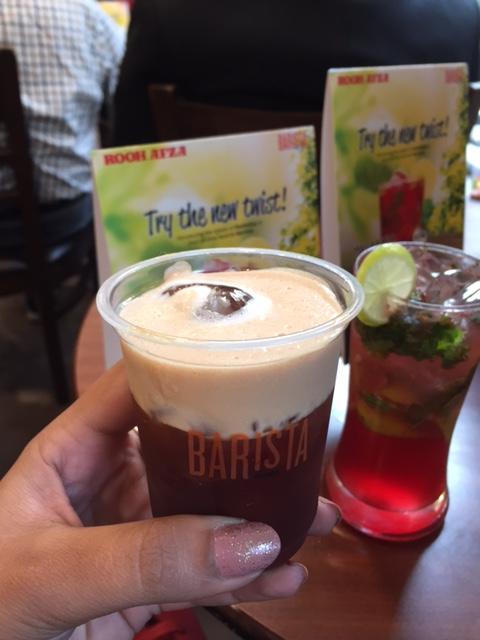 Shakerato Roohafza Coffee Barista